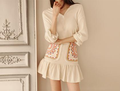 Ethnic jasu skirt (50% sale)
