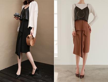 Rain-stripe skirt (50% sale)