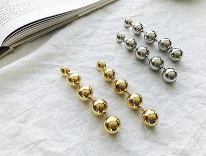 Bold-chain earring
