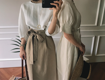 Bloom round blouse