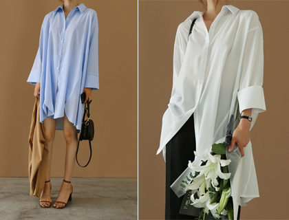 Touch long blouse