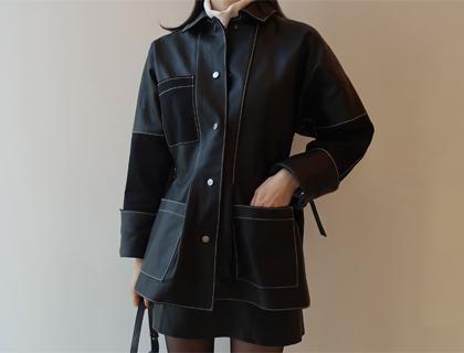 Robert leather jacket