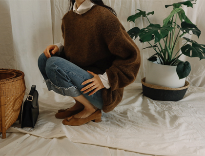 Fox round knit