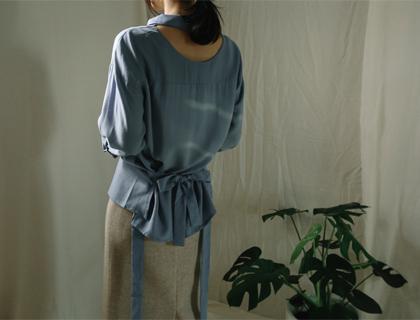 Modern tencel blouse