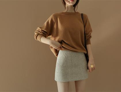 Cashwool round knit