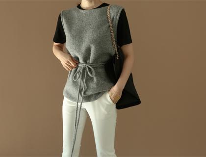 String vest knit