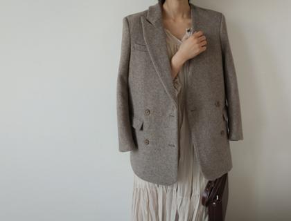 Tailored unbal jacket