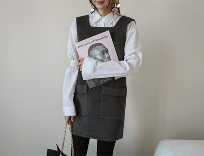 Smock sleeve blouse