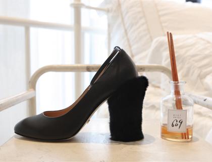 15751 fur heel ♩