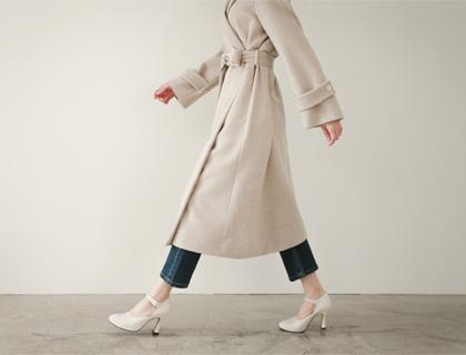 Rowin belt coat