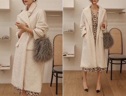 Bichon fur coat