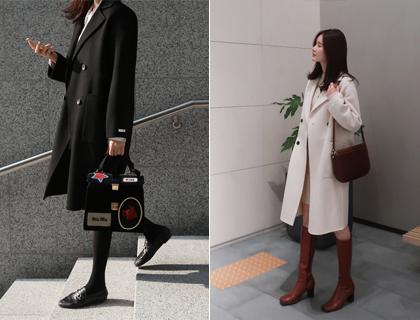 Hand double coat