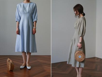 Dart line dress