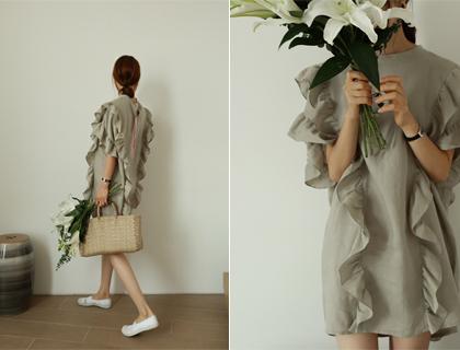 Difrill linen dress
