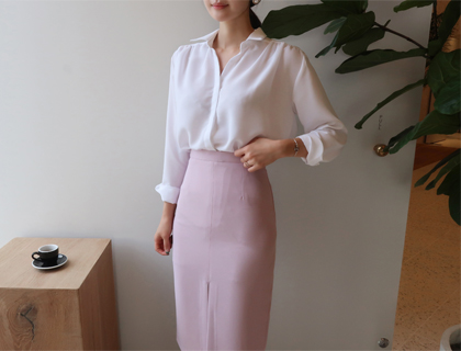 Danjak shirring blouse