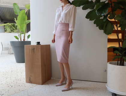 Reble slit skirt