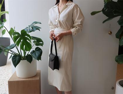 Visit wrap dress