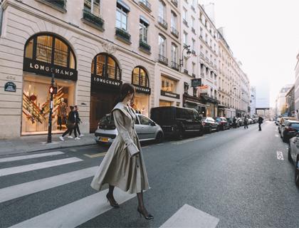 Jacqueline trench coat
