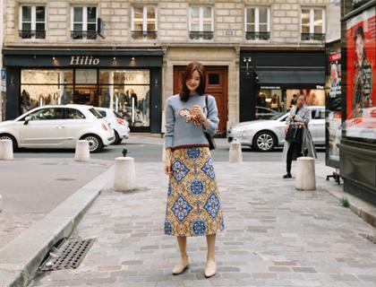 Zadar A-line skirt