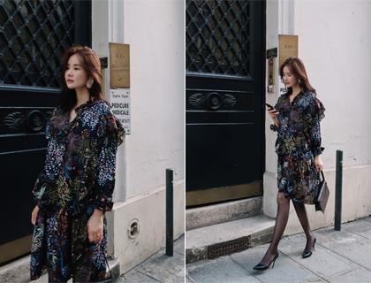 Nafol frill dress