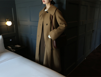 Belted hand coat