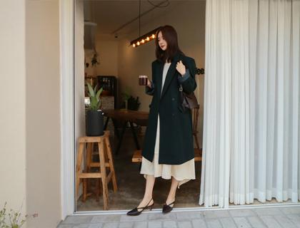 Aris double coat (green)