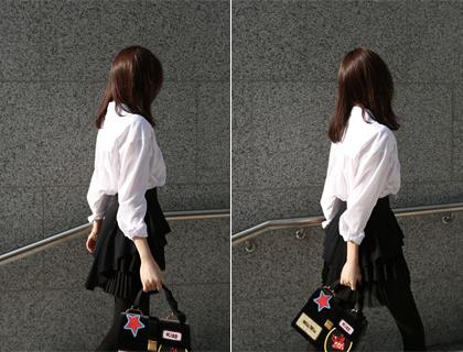 Layer pleats skirt