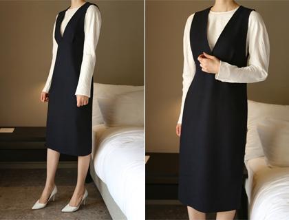 Sara v-neck dress