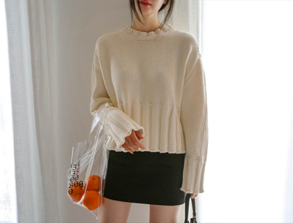 Motive mini skirt