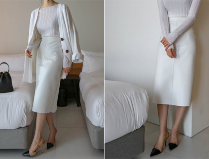 Ruby H-line skirt