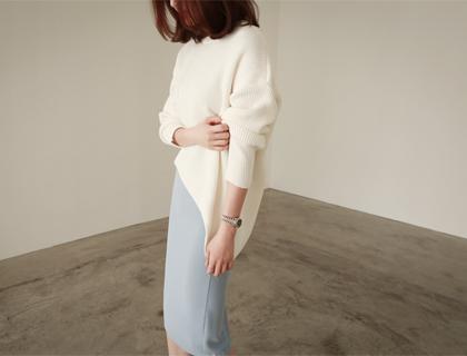 Slope unbal knit