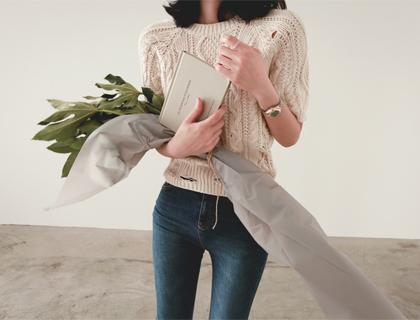 Twist-vintage knit
