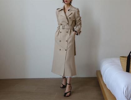 Ray trench coat