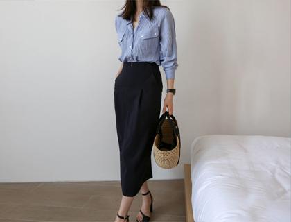 Tom H-long skirt