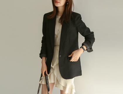 Etoile linen jacket
