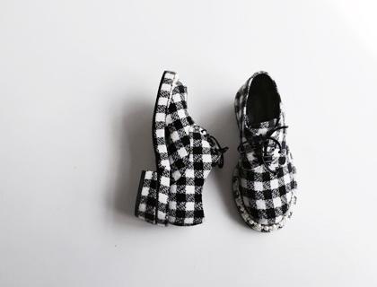 Made-su check loafer ♩