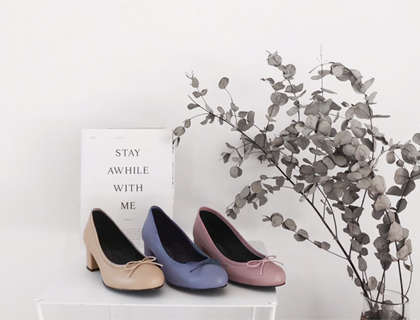 3218 ribbon middle heel ♩
