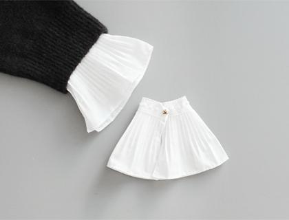 Pleats cuffs