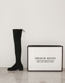 5752 thigh-high boots ♩