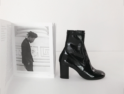 Stretch ankle boots ♩