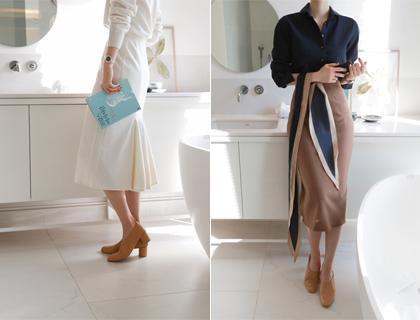 Milling back-hul skirt