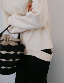 Cutoff knit
