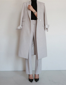 Formal long coat