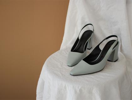 17059 Sling back heel ♩