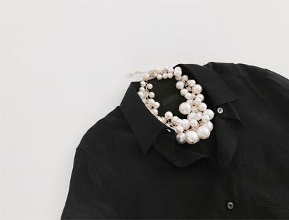 Grape jinju necklace