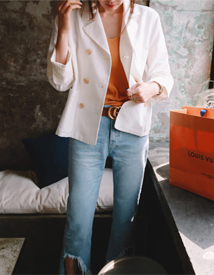 Bamboo pocket jacket