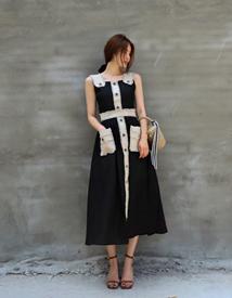 Rattan pocket skirt