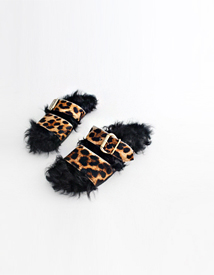 Dumble fur sandal ♩