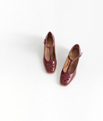 T-strap heel ♩