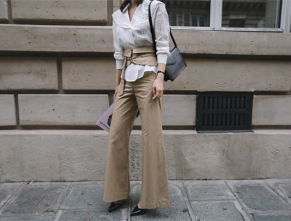 Collar jasu blouse